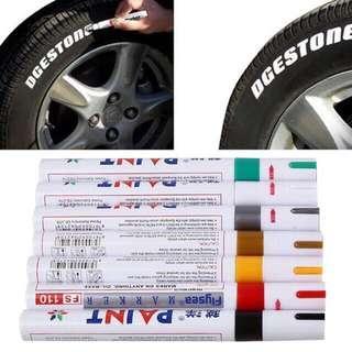 Tayar tire tyre marker paint