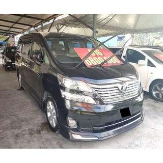 2008 Toyota VELLFIRE 3.5 Z G-EDITION FULL SPEC