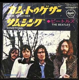 "Beatles 7"" vinyl (come together) jap press vinyl"