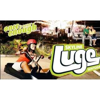 Clearance Sale- Luge Ride & Skyride(Adult- 2 rounds)  Everything must go