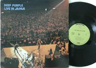 Deep purple (live in japan) L.p/vinyl rock