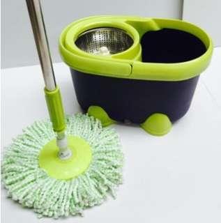 Trojan models stainless steel rotating mop good drag drag the bucket-intal