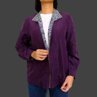 purple ladies fashion