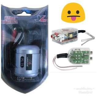 Audio Hi/Lo Converter (Speaker Line -> RCA)