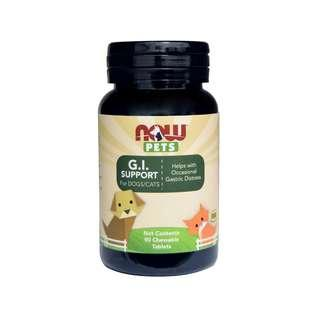 🚚 Now Foods, Pets, G.I. Support Chewables for Dogs & Cats, 90 Tabs