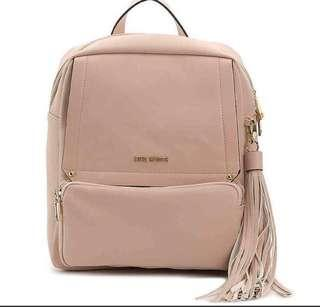 BNWT STEVE MADDEN faux leather mini backpack blush pink