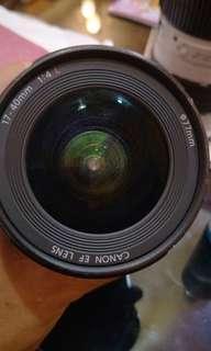 Canon L Lens 17-40