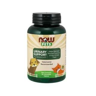 🚚 Now Foods, Pets, Urinary Support, For Dogs/Cats, 90 Chewable Tablets