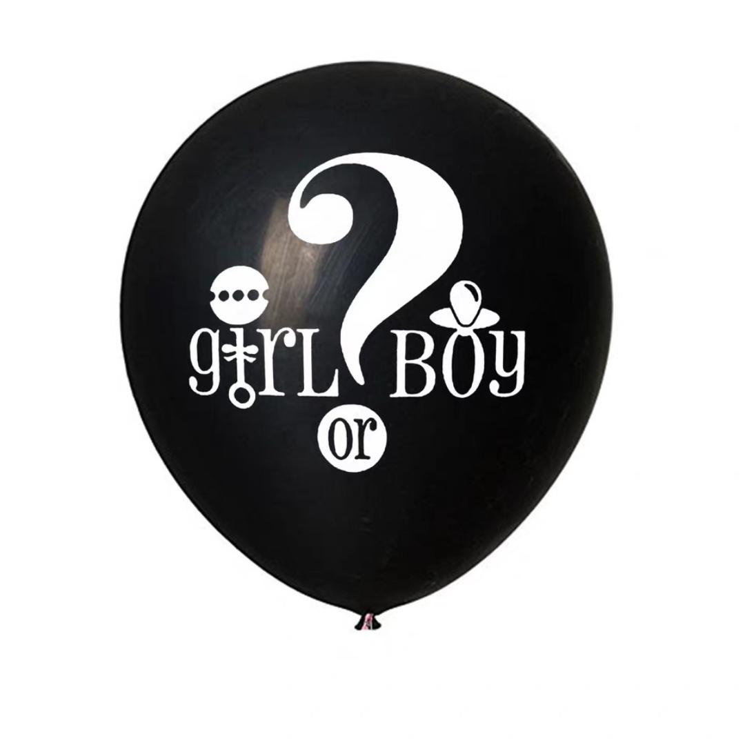 10 inch Gender Reveal Balloon Bundle! Let this Bundle be the Start of your Bundle of Joy!