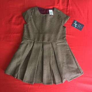 Houndstooth dress 2y