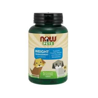 🚚 Now Foods, Pets, Foods Weight Management Chewable Tablets for Dogs 90 Tabs