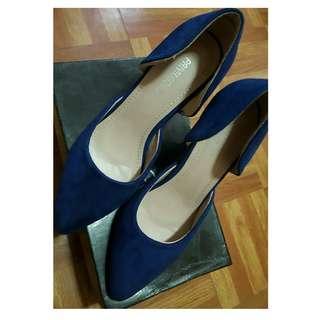 Blue Heels (Pointed)