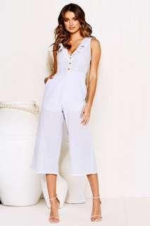 92a12941b4ee Littlelace Marcia Jumpsuit Blue Size 6 XS