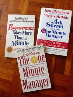 One minute manager books