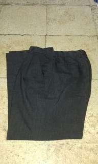 #maups4 Celana bahan abu2