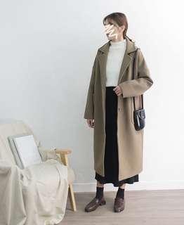 🚚 全新現貨💋摩卡可可色大衣