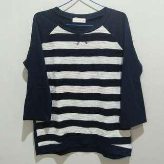 Stripe Navy by Connexion