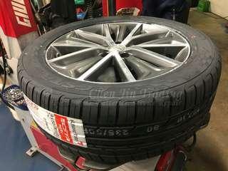 205/45/16 Kumho PS31 tyres