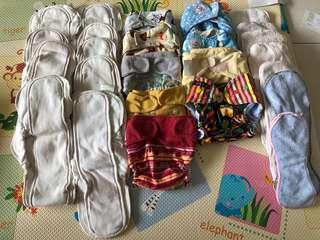 Cloth diaper and inner Grovia Autumnz and etc