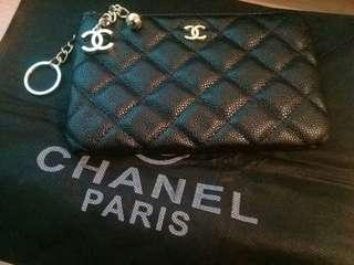 Chanel VIP Gift Pouch Black