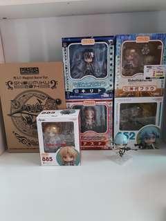 Anime authentic sealed nendoroids goodsmile gsc