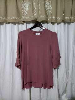 Emelia Old Rose top/ M