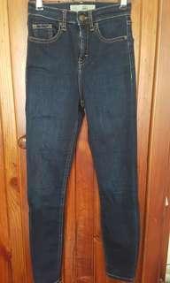 Topshop moto Jamie jeans W25 L30
