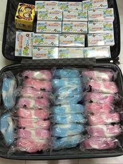 台灣製造彈性布兒童立體口罩(一盒50個)