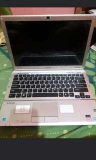 Laptop sony vaio i core 2
