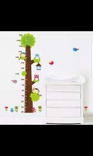 Height stickers bedroom living room wall stickers children's room decoration wall stickers measuring height cartoon wall stickers