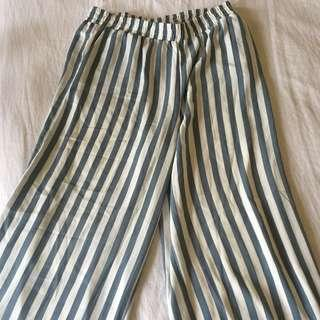 GLASSONS flowy striped pants