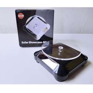 Solar Showcase 360 Turntable Rotating Jewelry Watch Phone Ring Display Stand Black