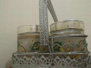 Toples kue isi 6 include rak kue stainless