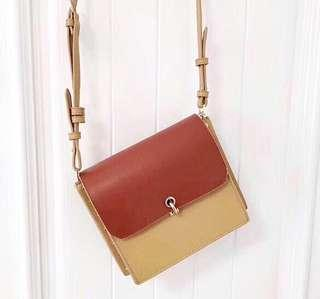 Charles and Keith Reversible Crossbody