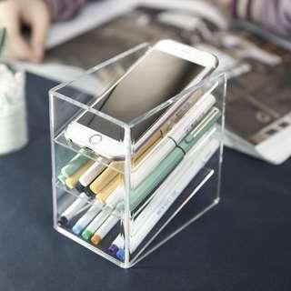 Clear Access Desk Stand