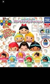TsumTsum Princess Cap bottle Gashapon