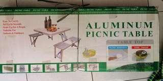 Aluminum Picnic Table