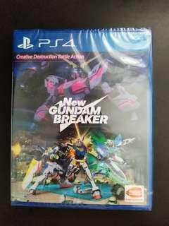 PS4 New Gundam Breaker (New)