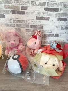 Moving Out Sales! BN Plush Toys