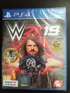 PS4 WWE 2k19 (New)