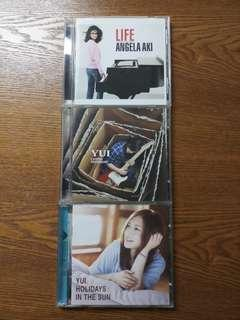 Yui and Angela Ski CD