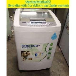 LG (9.0kg), washing machine / washer ($220 + free delivery & 2mths warranty)