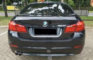 Bmw 523i At Th 2011 , BLack on beige , mulus