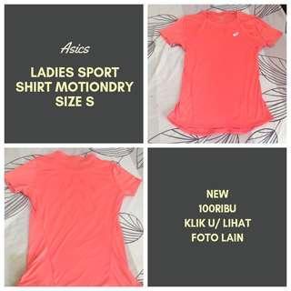 Asics ladies sport shirt motiondry