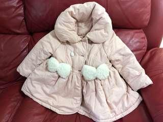 女童外套 粉色外套
