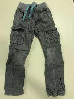 NEXT UK Cotton Lined Corduroy Pants fitting 5 to 6 years old