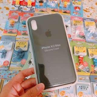 🚚 Instock iPhone X XS silicone Dark Grey Phone Cases