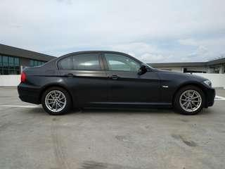 Bmw Matt black wrap