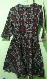 Dress batik #dibuangsayang