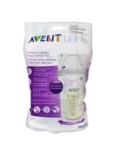 2 for $10!! Philips Avent Breastmilk Storage